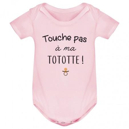 Body bébé Touche pas à ma tototte