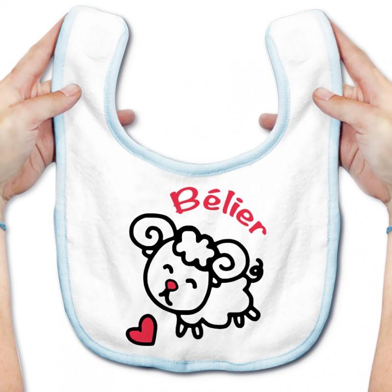 Bavoir bébé Signes Astrologiques : Bélier