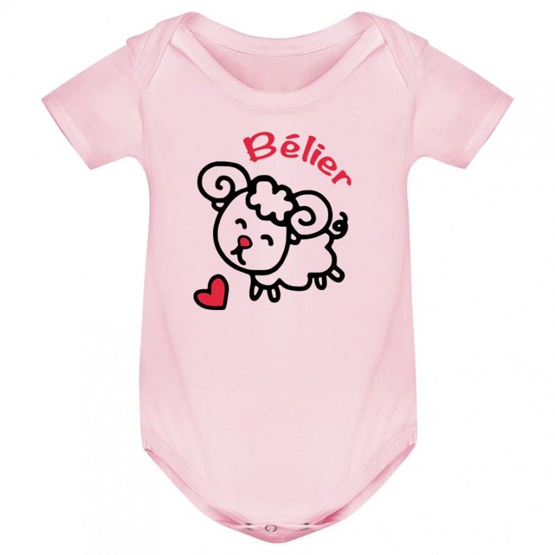 Body bébé Signes Astrologiques : Bélier