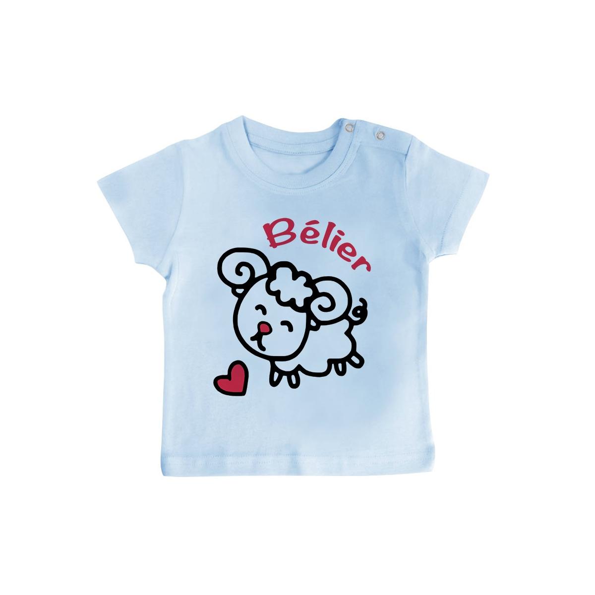 T-Shirt bébé Signes Astrologiques : Bélier