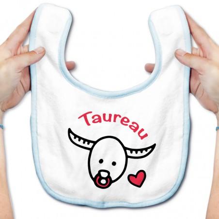 Bavoir bébé Signes Astrologiques : Taureau