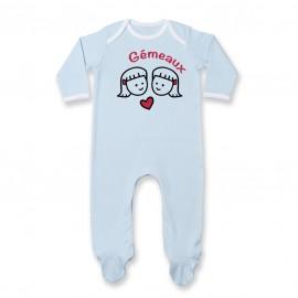 Pyjama bébé Signes Astrologiques : Gémeaux