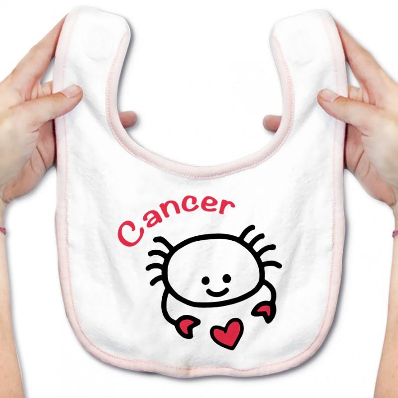 Bavoir bébé Signes Astrologiques : Cancer