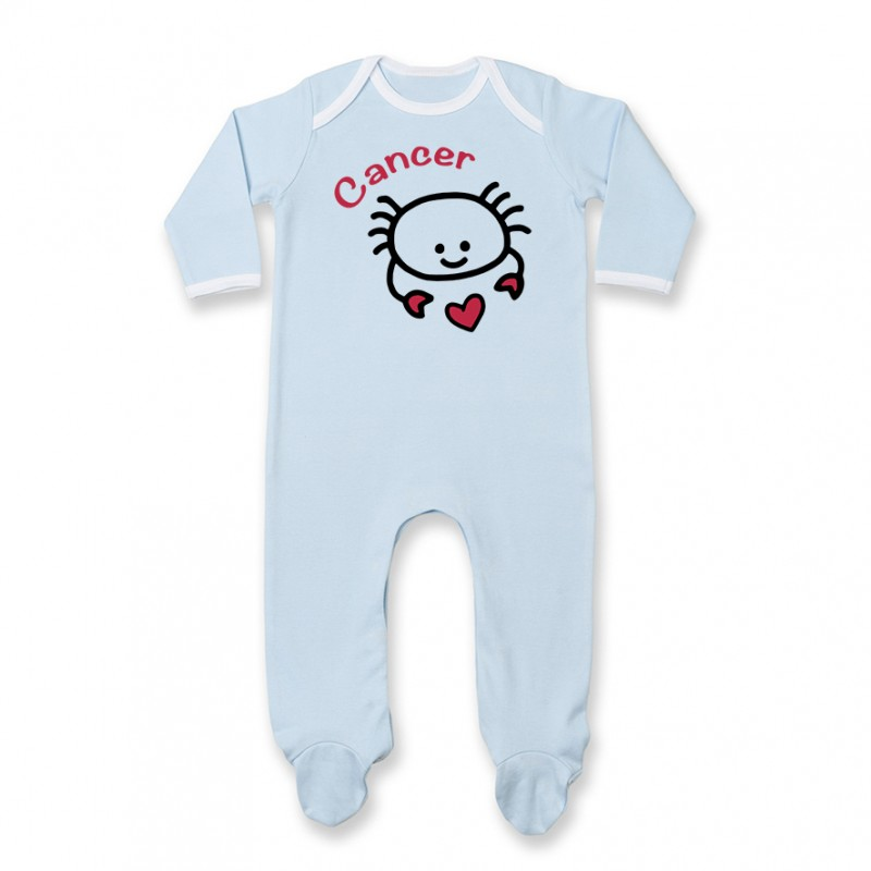 Pyjama bébé Signes Astrologiques : Cancer