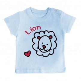 T-Shirt bébé Signes Astrologiques : Lion