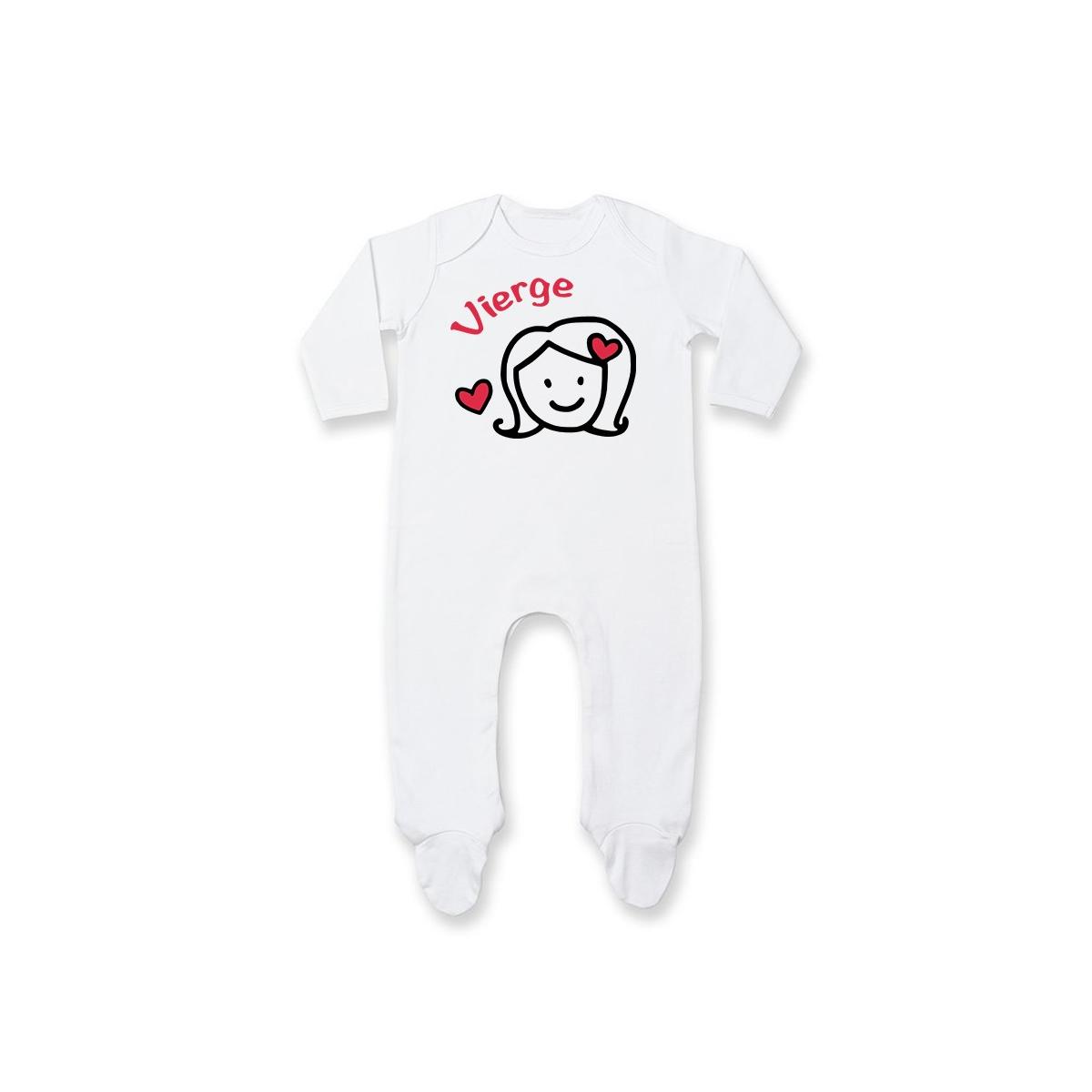 Pyjama bébé Signes Astrologiques : Vierge