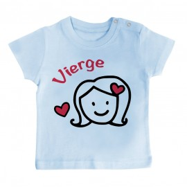 T-Shirt bébé Signes Astrologiques : Vierge