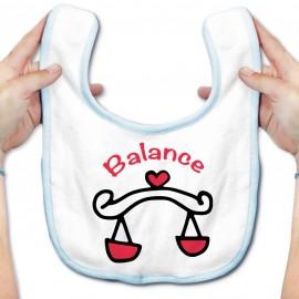 Bavoir bébé Signes Astrologiques : Balance