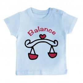T-Shirt bébé Signes Astrologiques : Balance