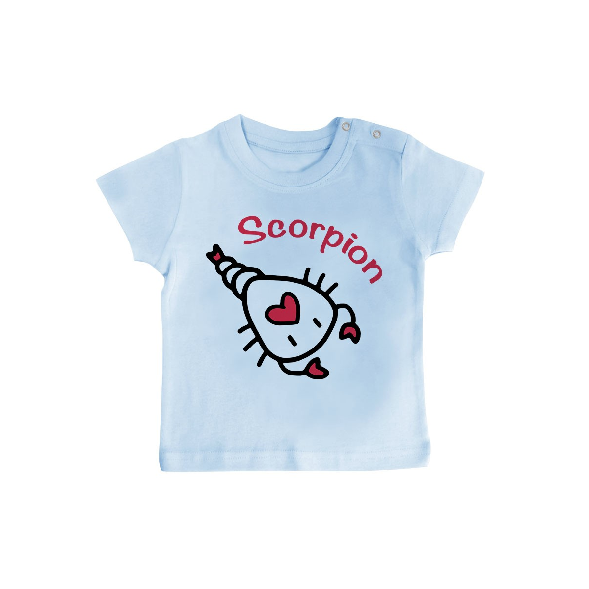 T-Shirt bébé Signes Astrologiques : Scorpion
