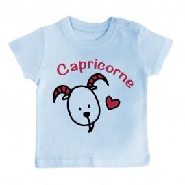 T-Shirt bébé Signes Astrologiques : Capricorne