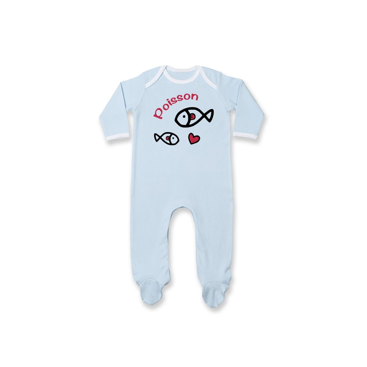 Pyjama bébé Signes Astrologiques : Poisson