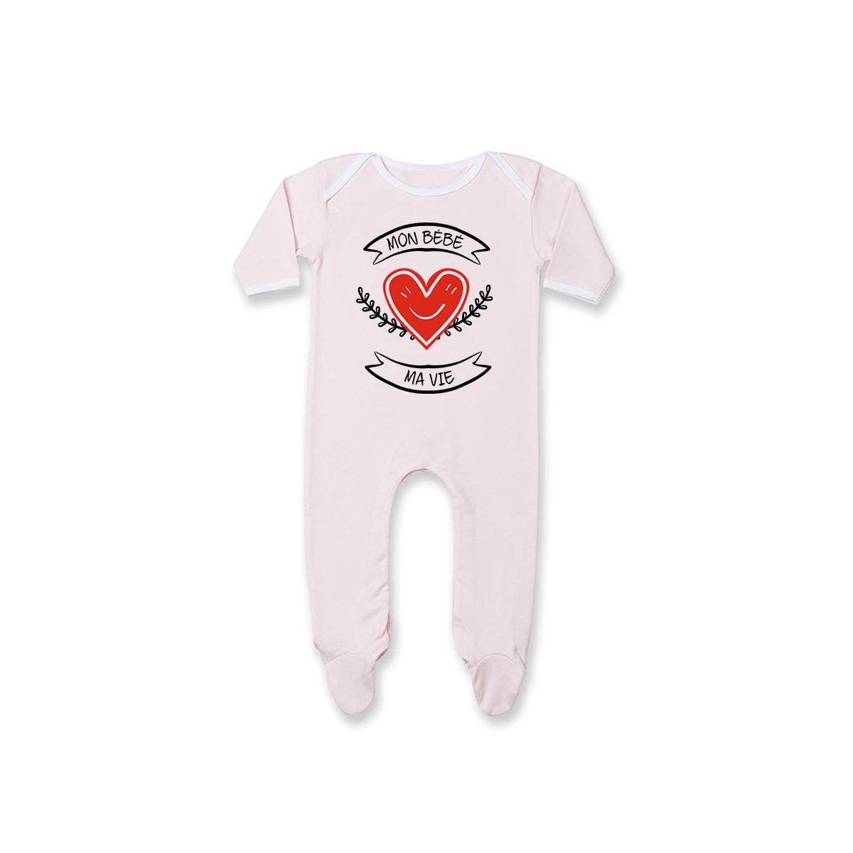 Pyjama bébé Mon bébé, ma vie