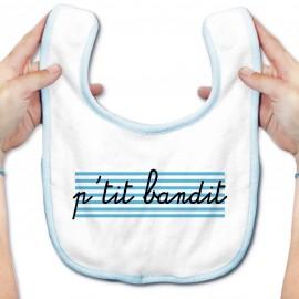 Bavoir bébé P'tit bandit