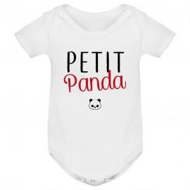 Body bébé Petit panda