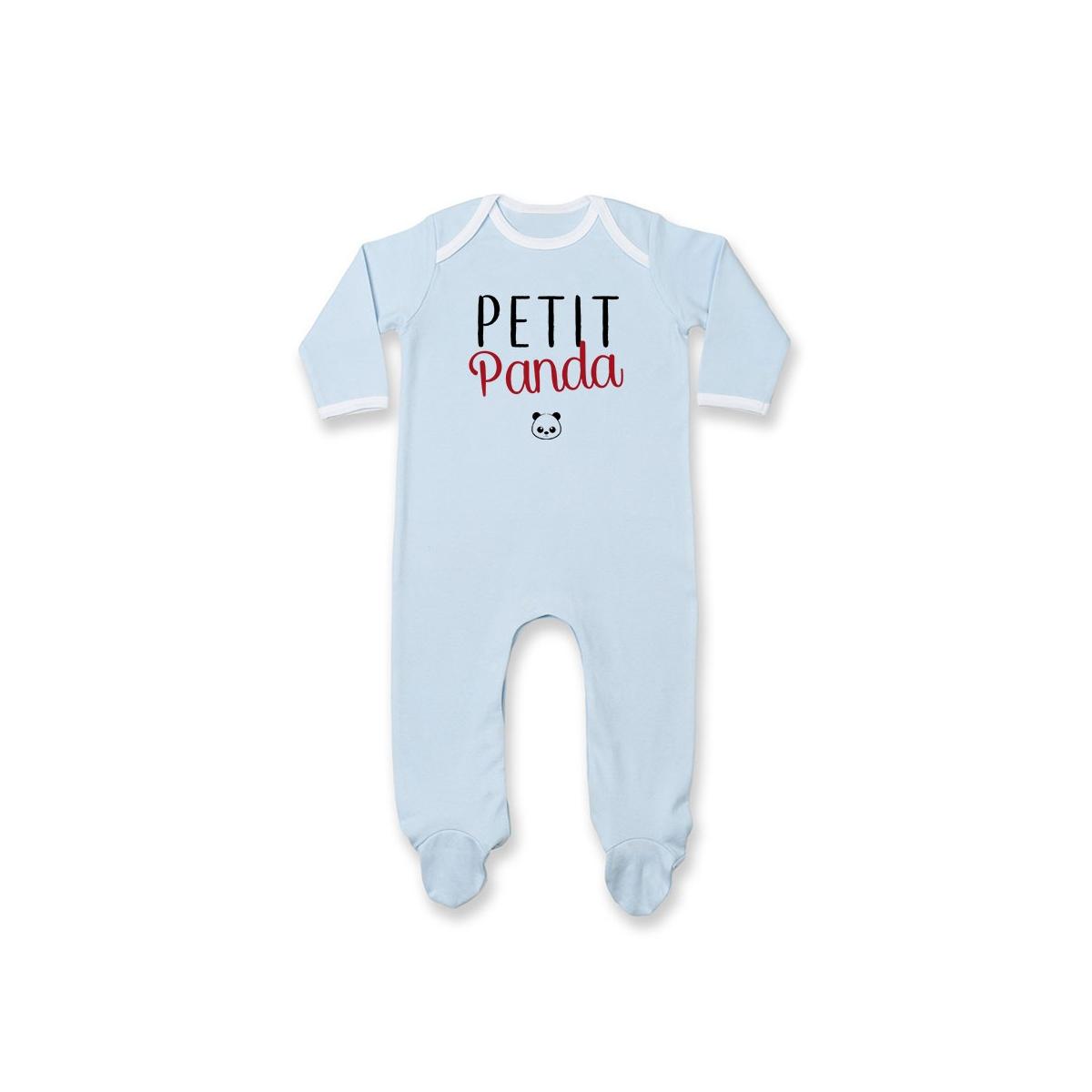 Pyjama bébé Petit panda