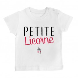 T-Shirt bébé Petite licorne