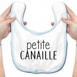 Bavoir bébé Petite canaille