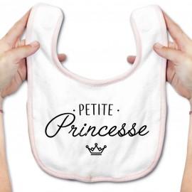 Bavoir bébé Petite princesse