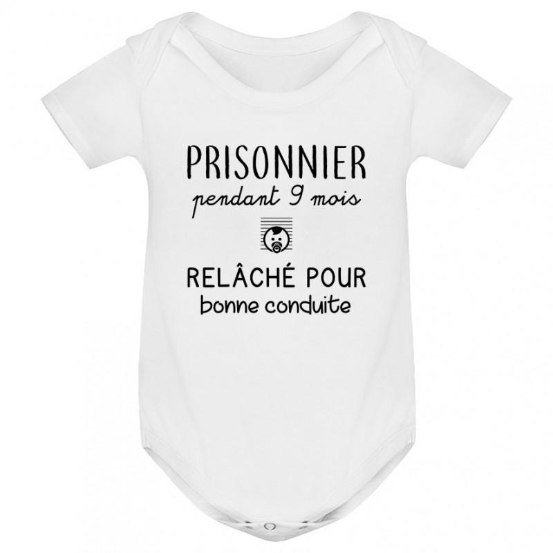 Body bébé Prisonnier pendant 9 mois