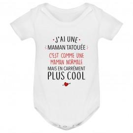 Body bébé J'ai une maman...