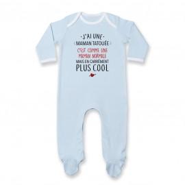 Pyjama bébé J'ai une maman tatouée
