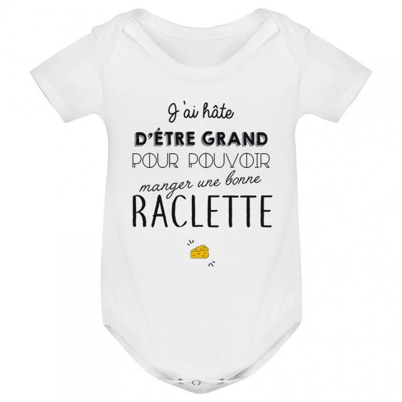 Body bébé Une bonne raclette