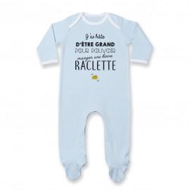 Pyjama bébé Une bonne raclette