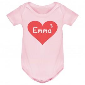 Body bébé personnalisé avec...