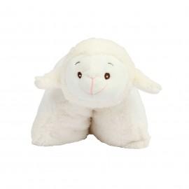 Peluche coussin agneau