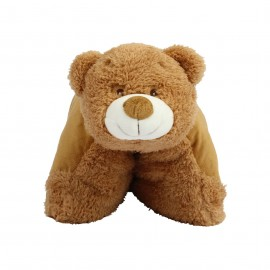 Peluche coussin ours