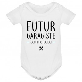 Body bébé Futur garagiste comme papa