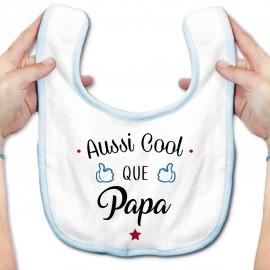 Bavoir bébé Aussi cool que papa