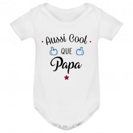 Body bébé Aussi cool que papa