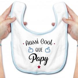 Bavoir bébé Aussi cool que papy