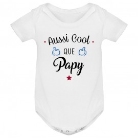 Body bébé Aussi cool que papy