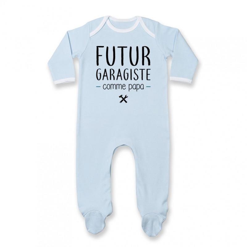 Pyjama bébé Futur garagiste comme papa