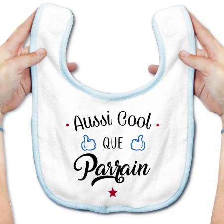 Bavoir bébé Aussi cool que parrain