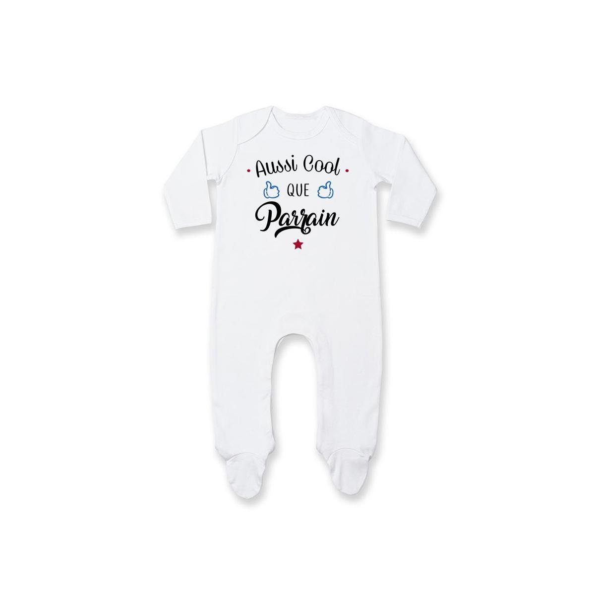 Pyjama bébé Aussi cool que parrain