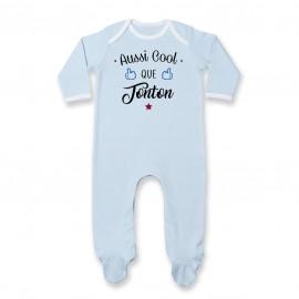 Pyjama bébé Aussi cool que tonton
