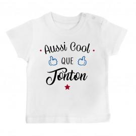 T-Shirt bébé Aussi cool que tonton