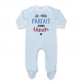 Pyjama bébé Je suis parfait d'après maman