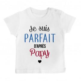 Pyjama bébé Je suis parfait d'après papy