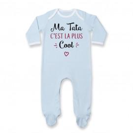 Pyjama bébé Ma tata c'est la plus cool