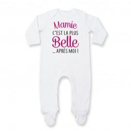 Pyjama bébé Mamie c'est la plus belle..après moi