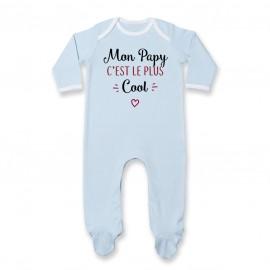 Pyjama bébé Mon papy c'est le plus cool