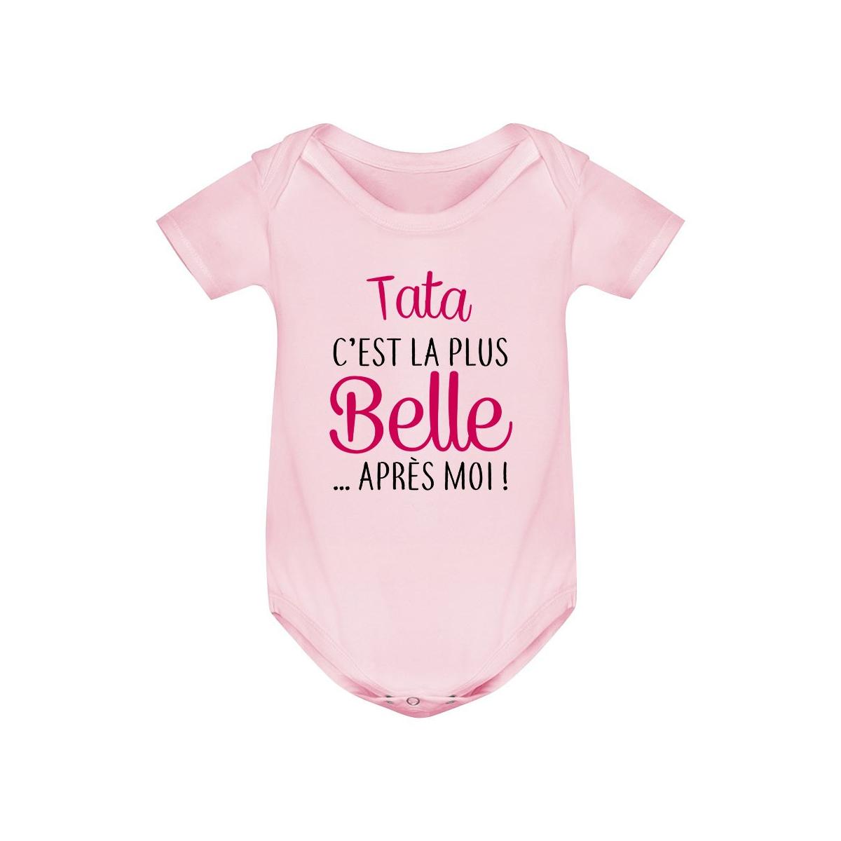 Body bébé Tata c'est la plus belle après moi
