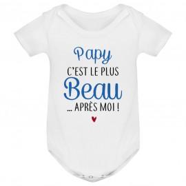 Body bébé Papy c'est le plus beau..après moi