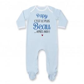 Pyjama bébé Papy c'est le plus beau..après moi