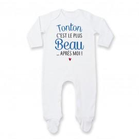 Pyjama bébé Tonton c'est le plus beau..après moi
